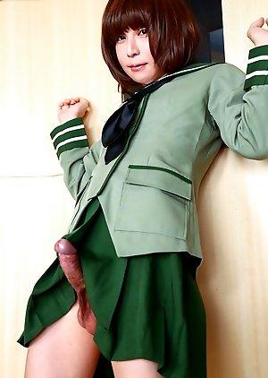 Free Ladyboy Uniform Pics